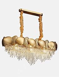 cheap -QIHengZhaoMing 9-Light Chandelier Ambient Light Painted Finishes Crystal 110-120V / 220-240V