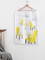 Недорогие -печать пыленепроницаемая сумка для хранения одежды повесить небольшой размер