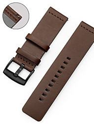 cheap -Watch Band for LG G Watch W100 / LG G Watch R W110 / LG Watch Urbane W150 LG Sport Band Genuine Leather Wrist Strap