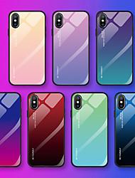 Недорогие -Кейс для Назначение Huawei Huawei P20 / Huawei P20 Pro / Huawei P20 lite С узором Кейс на заднюю панель Слова / выражения / Градиент цвета Мягкий Закаленное стекло