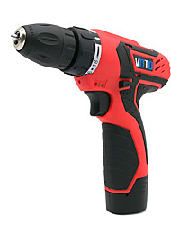 cheap -VOTO Rechargeable Pistol Drill With Magnetic 12V Lithium Drill Electric Screwdriver Batch Home Multi-Function Hand Drill Two Electric One Charge