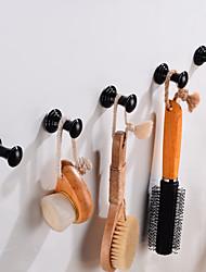 cheap -Robe Hook Creative Fun & Whimsical Aluminum 5pcs - Bathroom / Hotel bath Wall Mounted