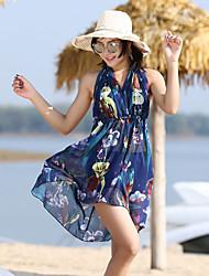 cheap -Women's Swim Dress Spandex Swimwear UV Sun Protection Quick Dry Sleeveless 3-Piece - Swimming Patchwork Spring Summer / High Elasticity