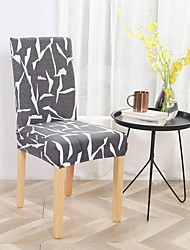 cheap -Chair Cover Floral Printed Polyester Slipcovers