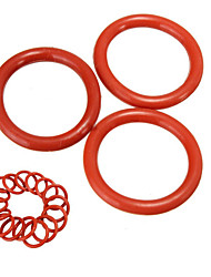 cheap -New 20pcs Tube Damper Silicone Rings Orange High Quality Silicone O-Rings Suitable For 12AX7 12AU7 12AT7 12BH7 EL84
