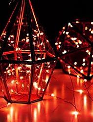 Недорогие -3M Гирлянды 30 светодиоды 1 комплект Красный Декоративная Аккумуляторы AA