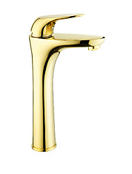 cheap -Bathroom Sink Faucet - Widespread Gold / Rose Gold Other Single Handle One HoleBath Taps