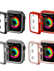 cheap -44mm 40mm 38mm 42mm Watch PC Frame Case Cover For Apple Watch Series 4 3 2 1 Cover