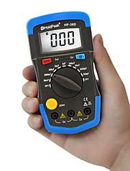 Недорогие -Holdpeak hp-36d измеритель емкости ручной емкостный мануал 1999 считает конденсатор электронный жк-емкостный мультиметр тестер