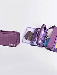 abordables -Tissu Oxford Fermeture Bagage à Main Couleur unie Quotidien Violet / Bleu Ciel / Rouge foncé / Automne hiver
