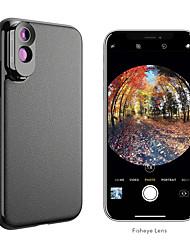 cheap -Mobile Phone Lens Fish-Eye Lens / Long Focal Lens Glasses / ABS+PC 2X 10 mm 0.01 m 180 ° Cool / Funny