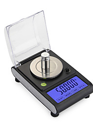 cheap -0.005g 50g high Precision Lab Laboratory Weight Balance Jewelry Diamond Herbs Grams Gold Digital Electronic Scales