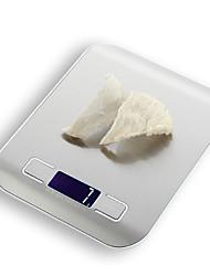Недорогие -10 кг цифровые кухонные весы 10000 г / 5 г жк-ультра тонкий из нержавеющей стали платформы пищевые весы с подсветкой приготовления мера инструменты