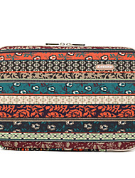 cheap -14 Inch Laptop Sleeve Canvas Floral Print / Bohemian for Business Office Unisex Shock Proof