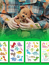 cheap -8 pcs Temporary Tattoos Eco-friendly / Water Resistant / Disposable Face / Body / brachium Environmentally Friendly Ink