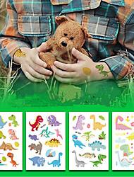 Недорогие -8 pcs Временные татуировки Экологичные / Защита от влаги / Одноразового использования Лицо / Корпус / плечо Экологически чистые чернила