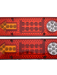 cheap -2pc 12V 23LED Car Trailer Truck Tail Light Rear Brake Reverse Turn Signal Lamp