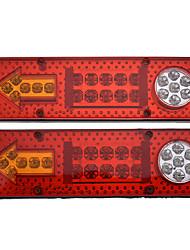 cheap -2pc 12V 23LED Car Trailer Truck Tail Light Rear Brake Reverse Turn Signal Lamp