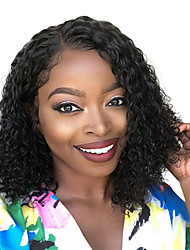 cheap -Synthetic Wig Curly Side Part Wig Medium Length Black / Gold Synthetic Hair 16 inch Women's Fashionable Design Women Synthetic Black / For Black Women