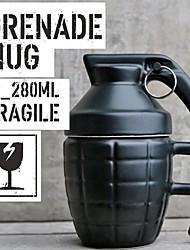 Недорогие -творческая граната кофейные кружки практичная чашка для воды с крышкой веселые подарки гранада