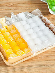 cheap -10pcs 240 Cube Disposale Ice Maker Ice Bag Ice Mold Water Injection Cold Bag
