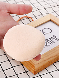 cheap -1 pcs Odor Free Washable Women Round Sponge Makeup Sponges Breathability Soft Safety Cosmetic Puff For Cosmetic Face Simple Portable Daily Daily Makeup Beauty Tools Blende