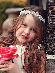 cheap -Toddler Girls' Basic / Sweet Sun Flower Floral Floral Style Lace Hair Accessories Silver One-Size