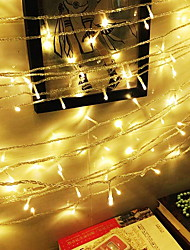 cheap -20m String Lights 200 LEDs 1 set Warm White Decorative 220-240 V