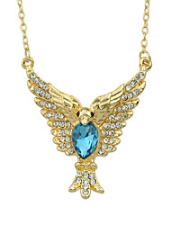cheap -Women's Pendant Necklace Fancy Eagle Romantic Fashion Modern Chrome Gold 43.5 cm Necklace Jewelry 1pc For Daily Work Festival