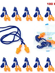 cheap -Toolman 100PCS Soft Silicone Ear Plugs for Hearing Protection Reusable
