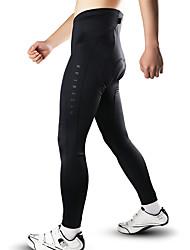 cheap -Men's Cycling Tights Bike Tights Pants Bottoms Breathable Sports Polyester Black Mountain Bike MTB Road Bike Cycling Clothing Apparel Slim Fit Bike Wear / Stretchy
