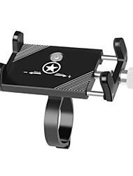 cheap -Bike Phone Mount Adjustable Anti-Slip Anti-Shake / Damping for Mountain Bike MTB Folding Bike Recreational Cycling Aluminum Alloy Cycling Bicycle Black Silver