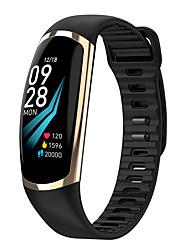 Недорогие -R18 Smart Watch BT 4.0 фитнес-трекер поддержка уведомления и пульсометр водонепроницаемый браслет для Samsung / Huawei / Iphone
