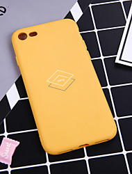 cheap -Case For iPhone XS Max XR XS X Back Case Soft Cover TPU Fashion simple style diamond sing  Soft TPU for iPhone 8 Plus 7 Plus 7 6 Plus 6 8