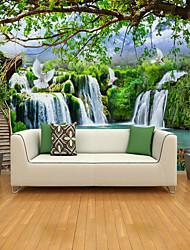 cheap -Landscape tree Big Bird Illustration Suitable for TV Background Wall Wallpaper Murals Living Room Cafe Restaurant Bedroom Office XXXL(448*280cm)
