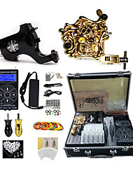 cheap -BaseKey Professional Tattoo Kit Tattoo Machine - 2 pcs Tattoo Machines, Professional / New Aluminum Alloy 18 W 1 rotary machine liner & shader / 1 alloy machine liner & shader / Case Included