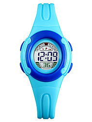 Недорогие -SKMEI®1479 Дети Детские часы Android iOS WIFI Водонепроницаемый Спорт Длительное время ожидания Smart Градиент цвета будильник Календарь С двумя часовыми поясами