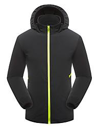 cheap -Men's Women's Hiking Jacket Outdoor Sunscreen UV Resistant Breathable Ultra Light (UL) Hoodie Top Single Slider Fishing Camping / Hiking / Caving Traveling Black / Army Green / Burgundy / Blue / Khaki