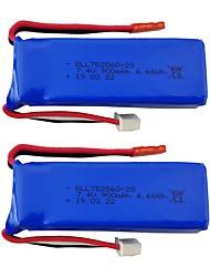 cheap -XK X520 XK X420 7.4V 900mAh 2pcs Battery