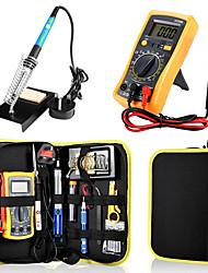 Недорогие -электрический утюг мультиметр набор утюжок утюг комплект многофункциональный небольшой инструмент для ремонта