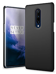 cheap -Case For OnePlus OnePlus 6 / One Plus 6T / One Plus 7 Frosted Back Cover Solid Colored Hard PC