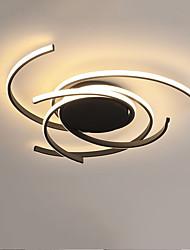 cheap -Geometrical Flush Mount Lights Painted Finishes Aluminum Silica gel 110-120V / 220-240V Warm White / White