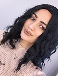 cheap -Synthetic Wig Body Wave Natural Wave Middle Part Wig Ombre Long Natural Black Synthetic Hair 16 inch Women's Fashionable Design Synthetic Natural Hairline Brown Ombre HAIR CUBE
