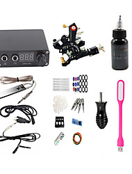 cheap -BaseKey Tattoo Machine Starter Kit - 1 pcs Tattoo Machines with 1 x 30 ml tattoo inks, Professional LED power supply Case Not Included 18 W 1 alloy machine liner & shader