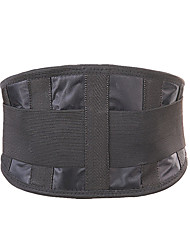 cheap -Lumbar Belt / Lower Back Support for Gym Workout Eases pain Pain Relief Polyester Microfiber 1 Piece Daily Wear Black