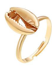 cheap -Women Adjustable Ring Geometrical Gold Silver Alloy Hope Classic 1pc Adjustable / Women's