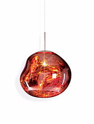 cheap -Nordic Style Glass Pendant Light Vintage Creative Glass Living Room Dining Room Bedroom Hallway Cafe Pendant Lamp