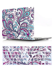 cheap -US Version Paisley Pattern Macbook Plastic Hard Case With Keyboard Cover Protective Compatible With New / Old MacBook Air Pro Retina 11/12/13/15 Inch