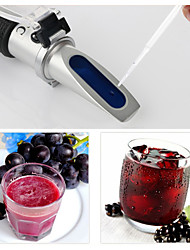 cheap -rz alcohol refractometer sugar grape wine concentration 0~25% alcohol 0~40% brix tester meter atc rz121 handheld tool