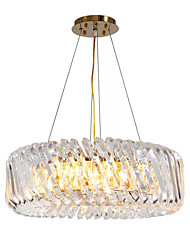 cheap -8-Light Pendant Light Ambient Light Painted Finishes Crystal 110-120V / 220-240V